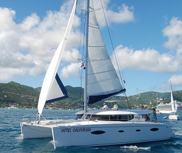Catamaran Virgin Islands Vacation: Salina 48, Hotel California