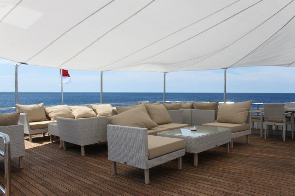 184 Custom Covered upper aft deck