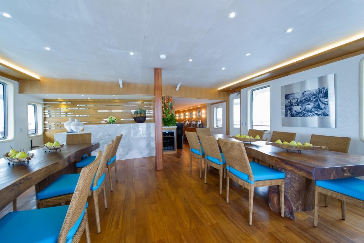 184 Custom Main deck dining room