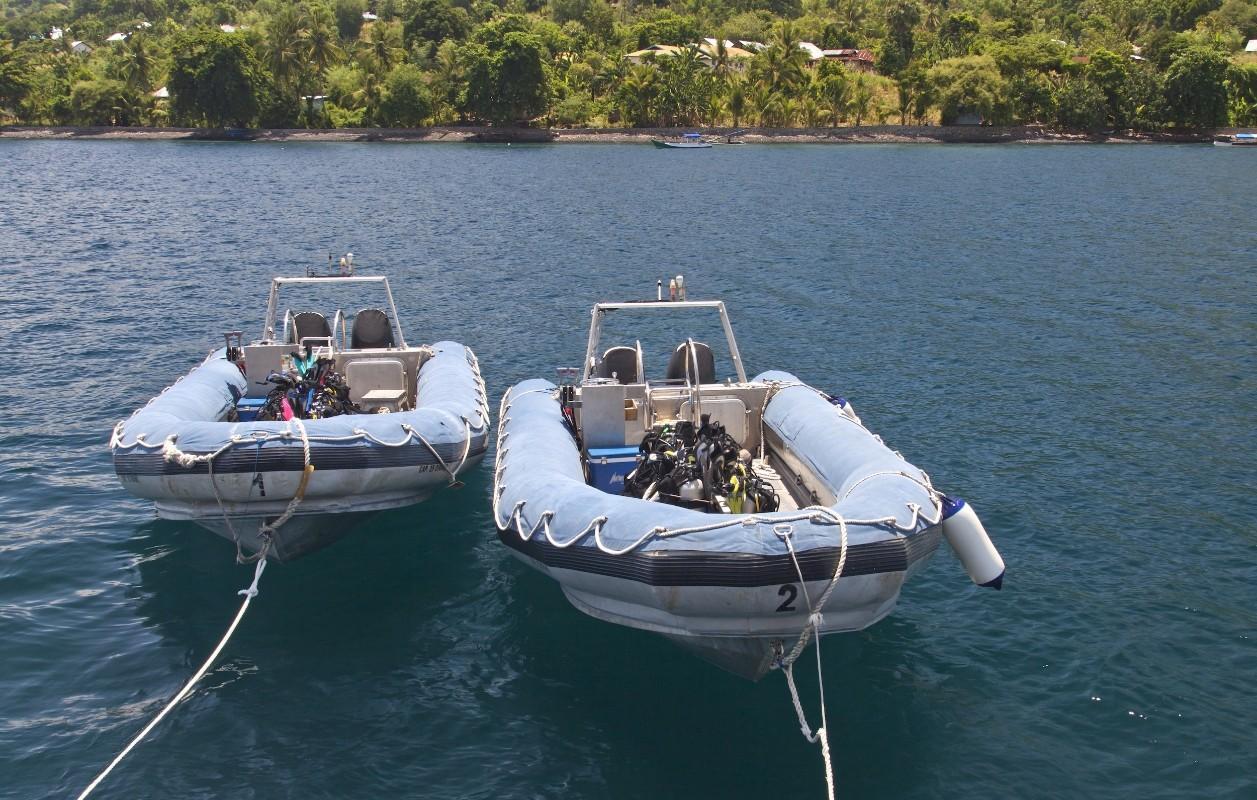 184 Custom Twin RIB tenders