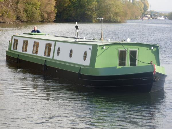 Reeves 65' x 11'  Widebeam Narrowboat Fit out by Mark Kirton