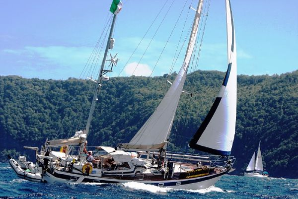 Hallberg Rassy 42 Ketch Hard Top boat for sale