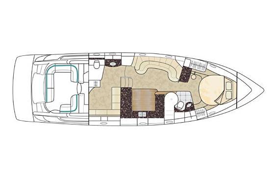 Formula 48 Yacht - Floorplan