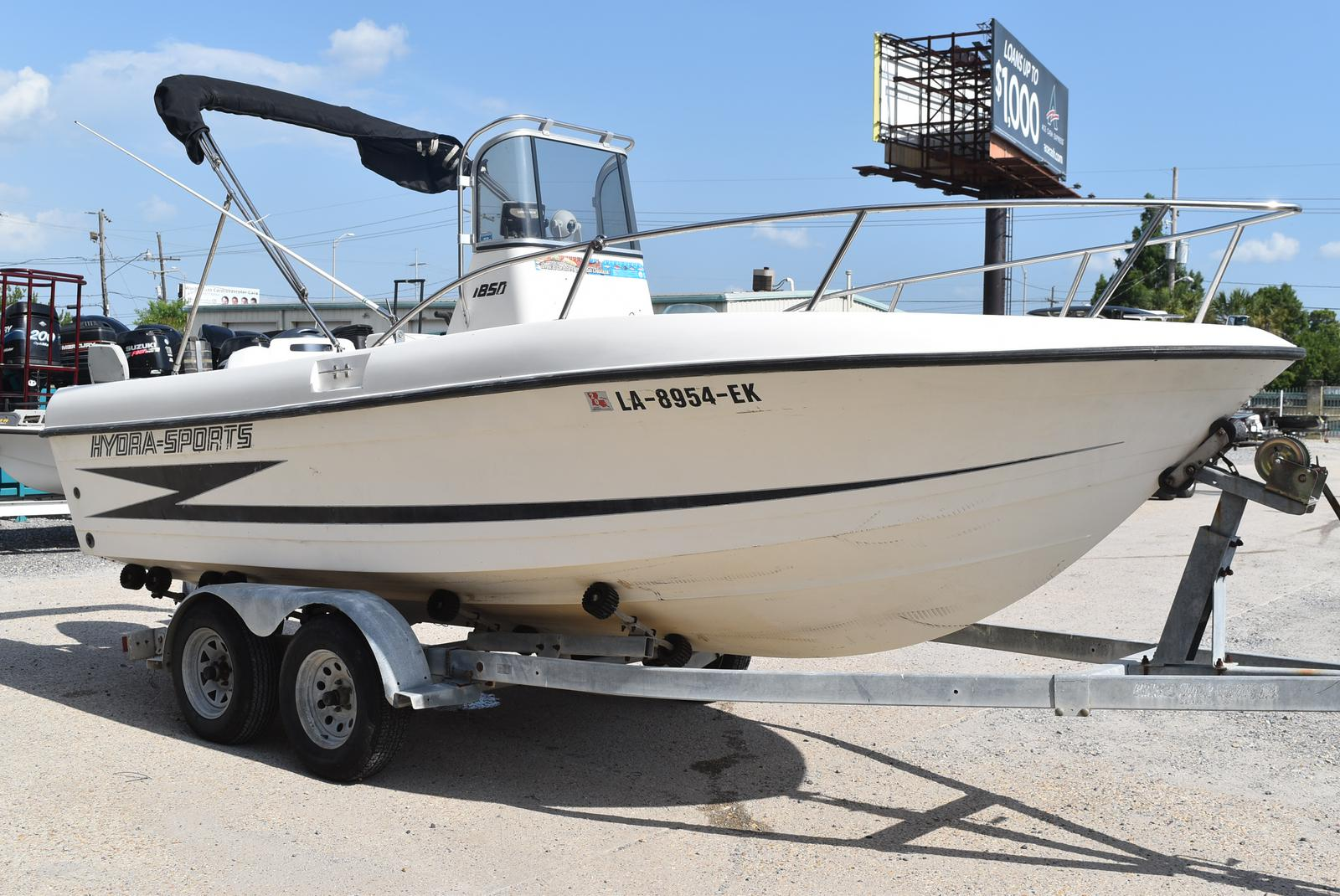 1993 Hydra-Sports boat for sale, model of the boat is 185 & Image # 2 of 14