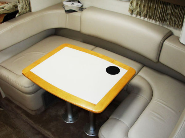 Dinette And Double Berth