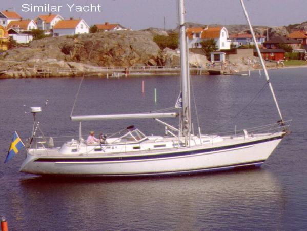 Boat Name: MERLIN; Year: 1998; Builder: Hallberg-Rassy Varvs AB; Model: 46 ...
