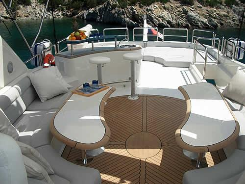 Manufacturer Provided Image: Flybridge Seating