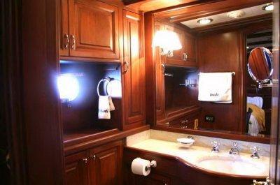 Bathroom Of A Steel Gulet
