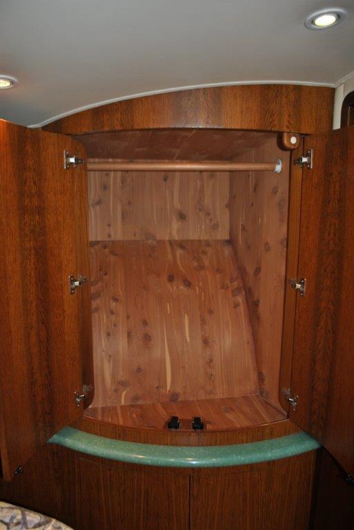 Master Cedar Hanging Locker