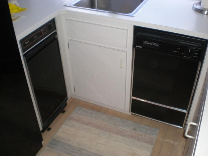 Galley compactor & dishwasher