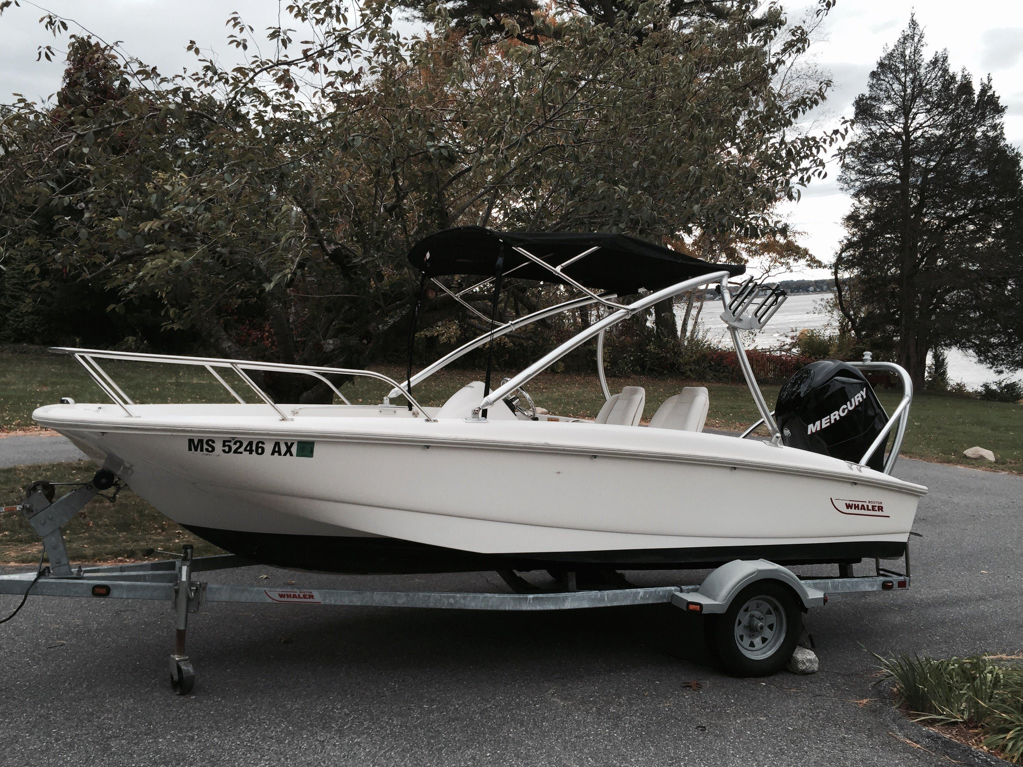 2010 Boston Whaler 170 Super Sport with Trailer