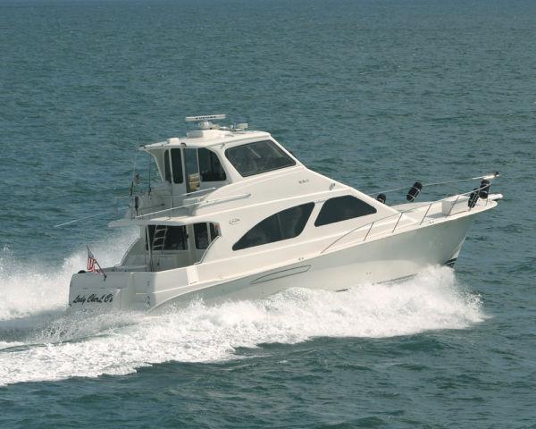 Ocean Odyssey Flybridge. Listing Number: M-3421769 57' Ocean Odyssey