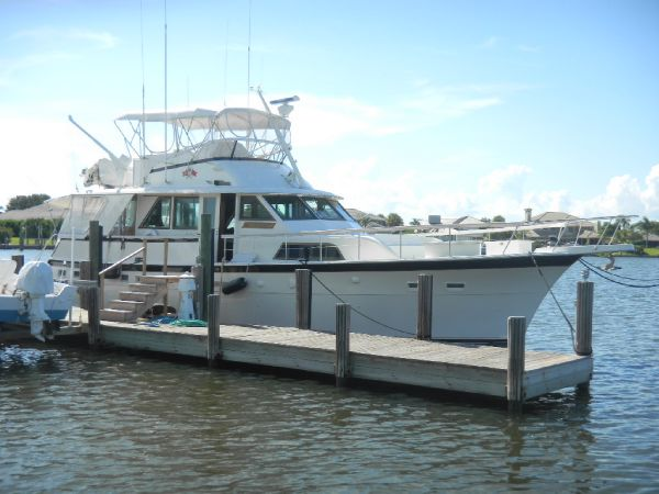 58' Hatteras Yacht Fisherman