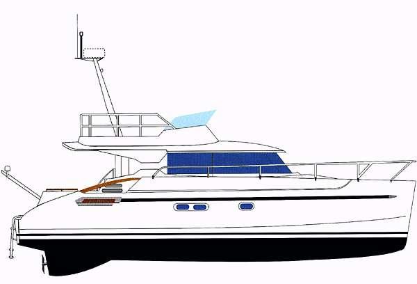 Fountaine Pajot Maryland 37 - Profile