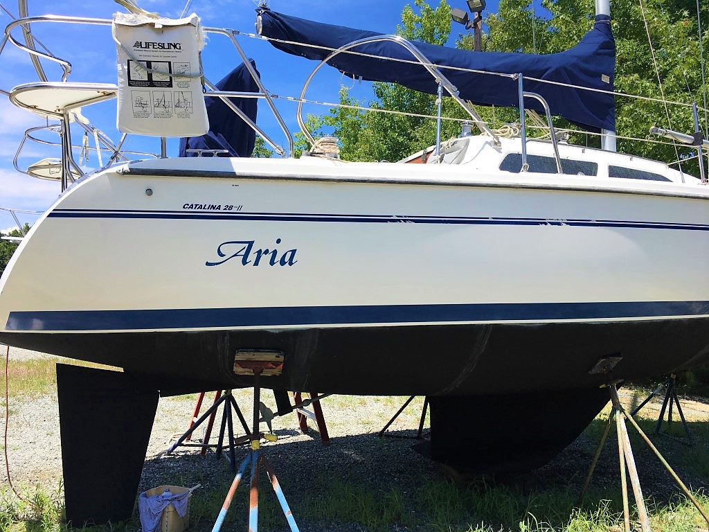 2000 Catalina 28 MkII – Deltaville Yachting Center and Chesapeake