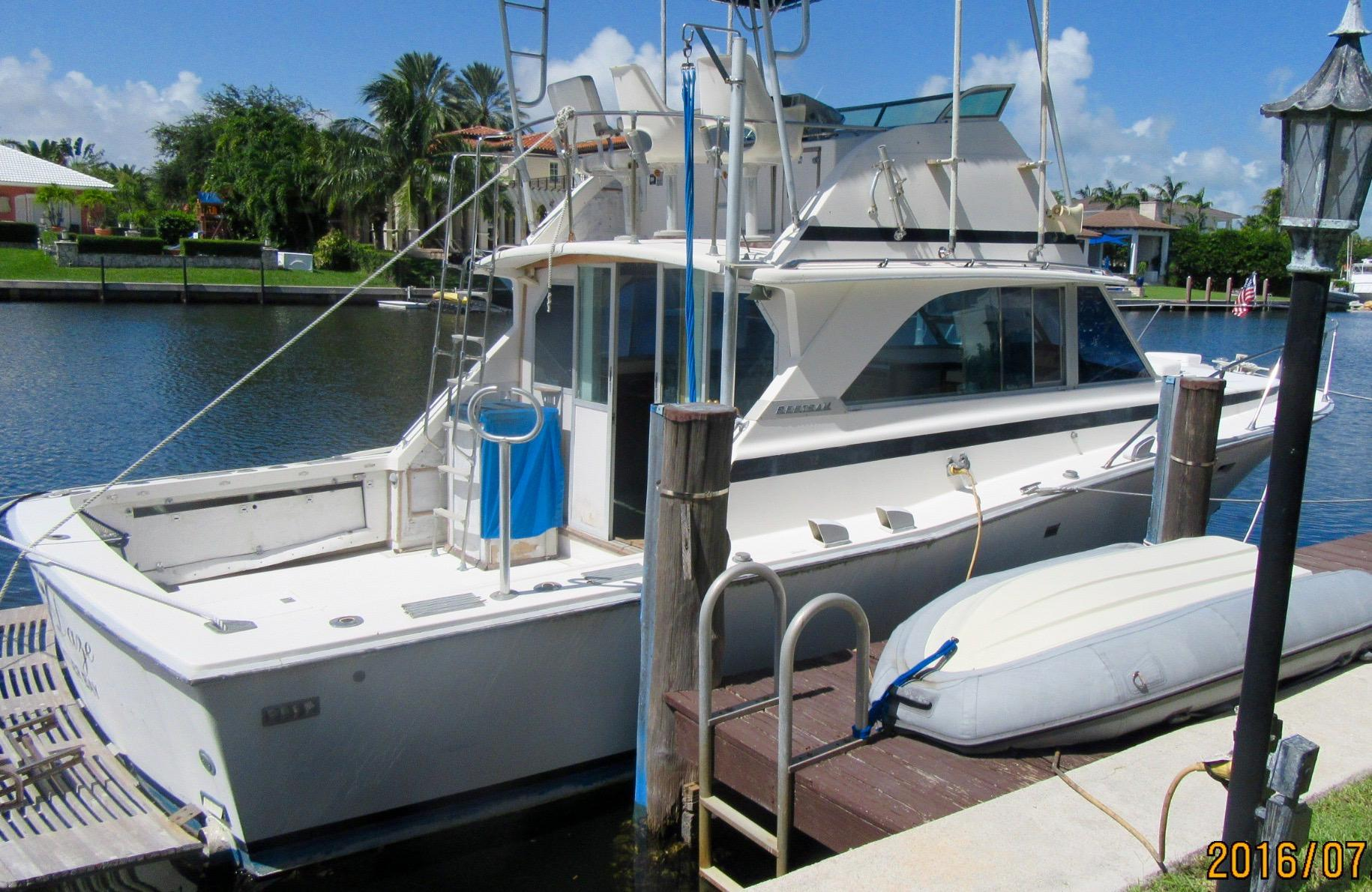38' Bertram 1974 Convertible Sport Fisherman