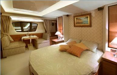 Owner Cabin - sister yacht