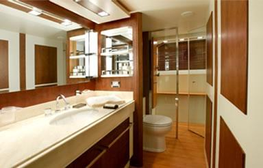 Owner Bathroom - sister yacht