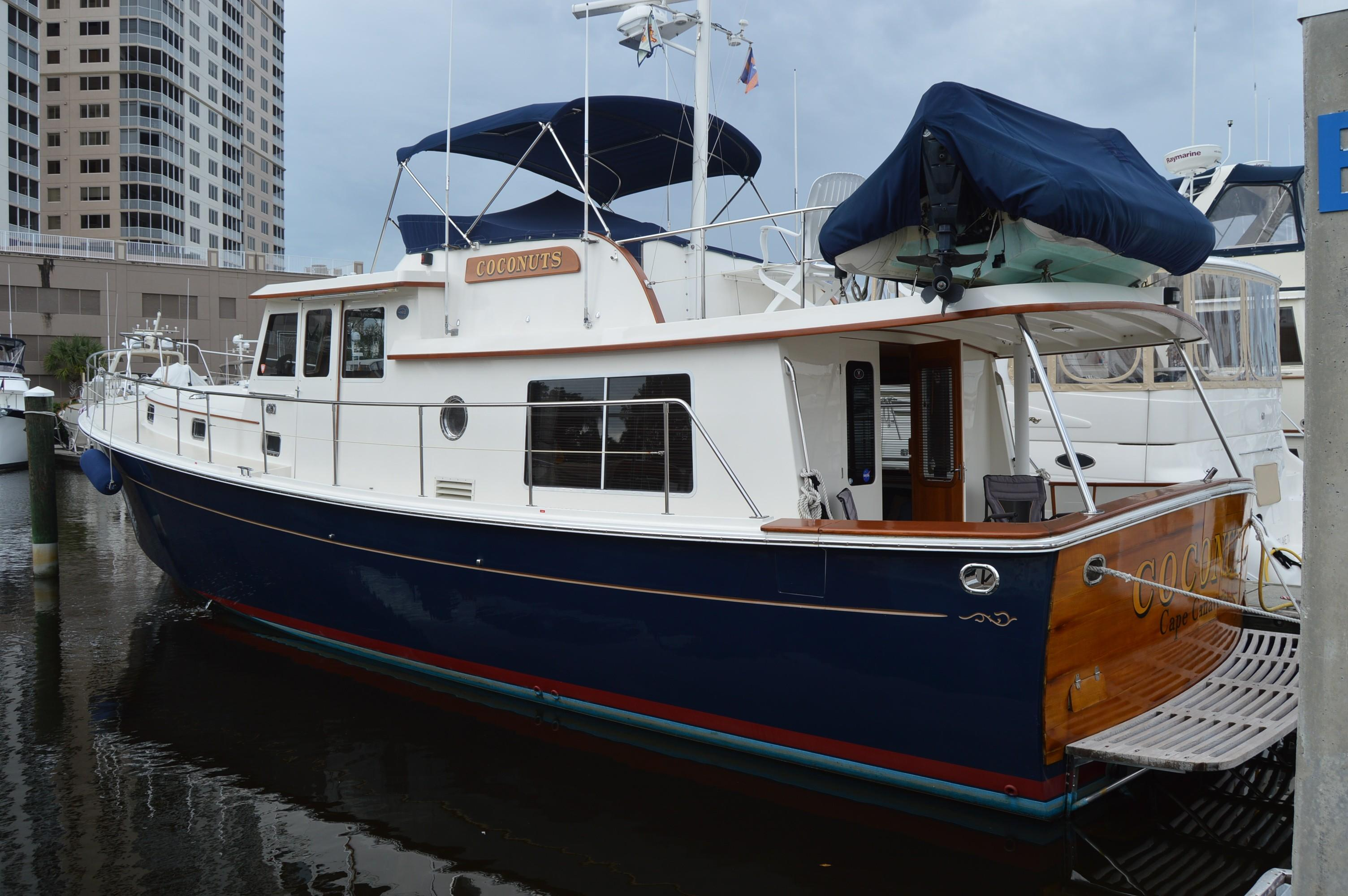 1996 Krogen Express 49' - Yacht Sales and Services