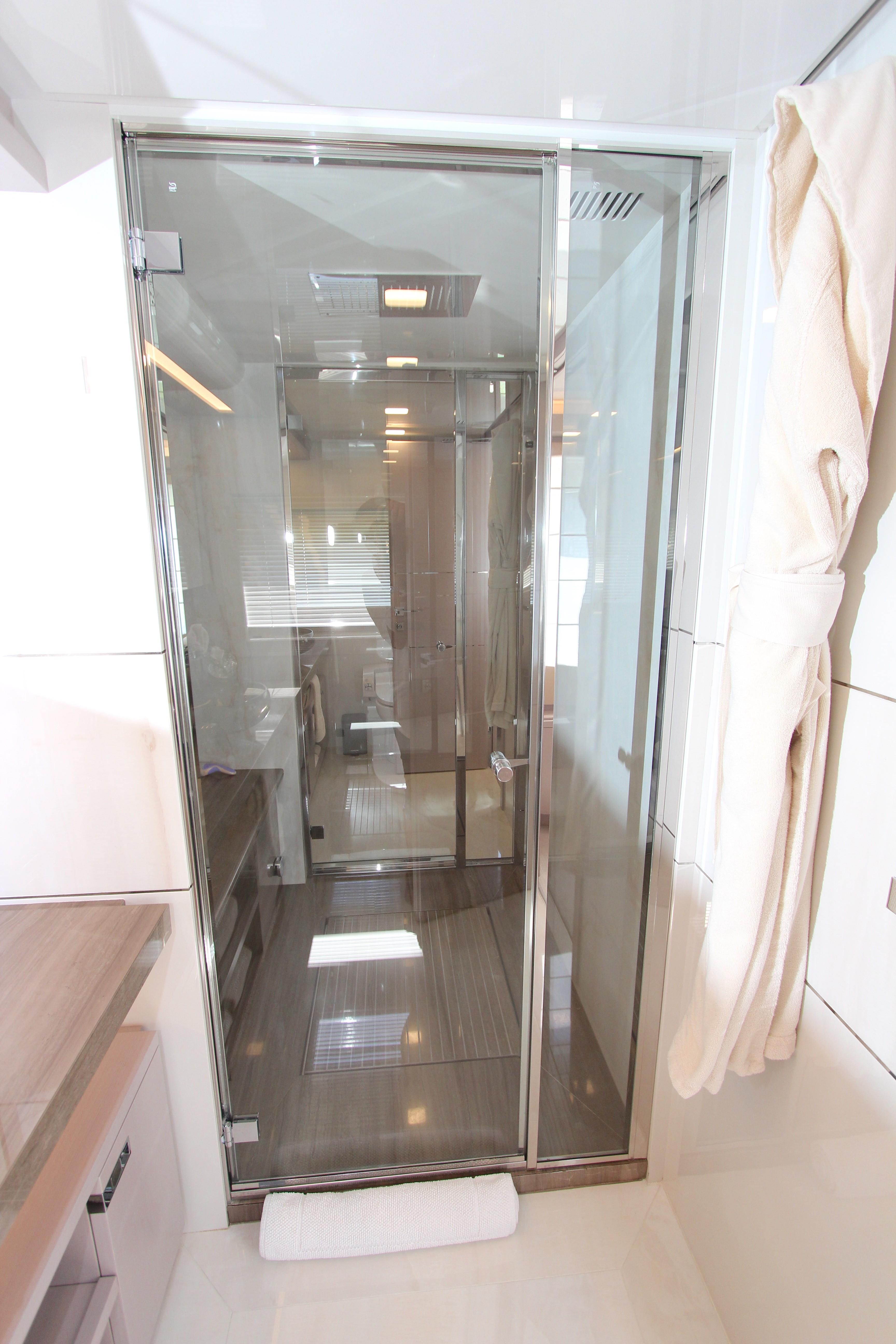 2016 Custom Line 108 - Master Bath Shower