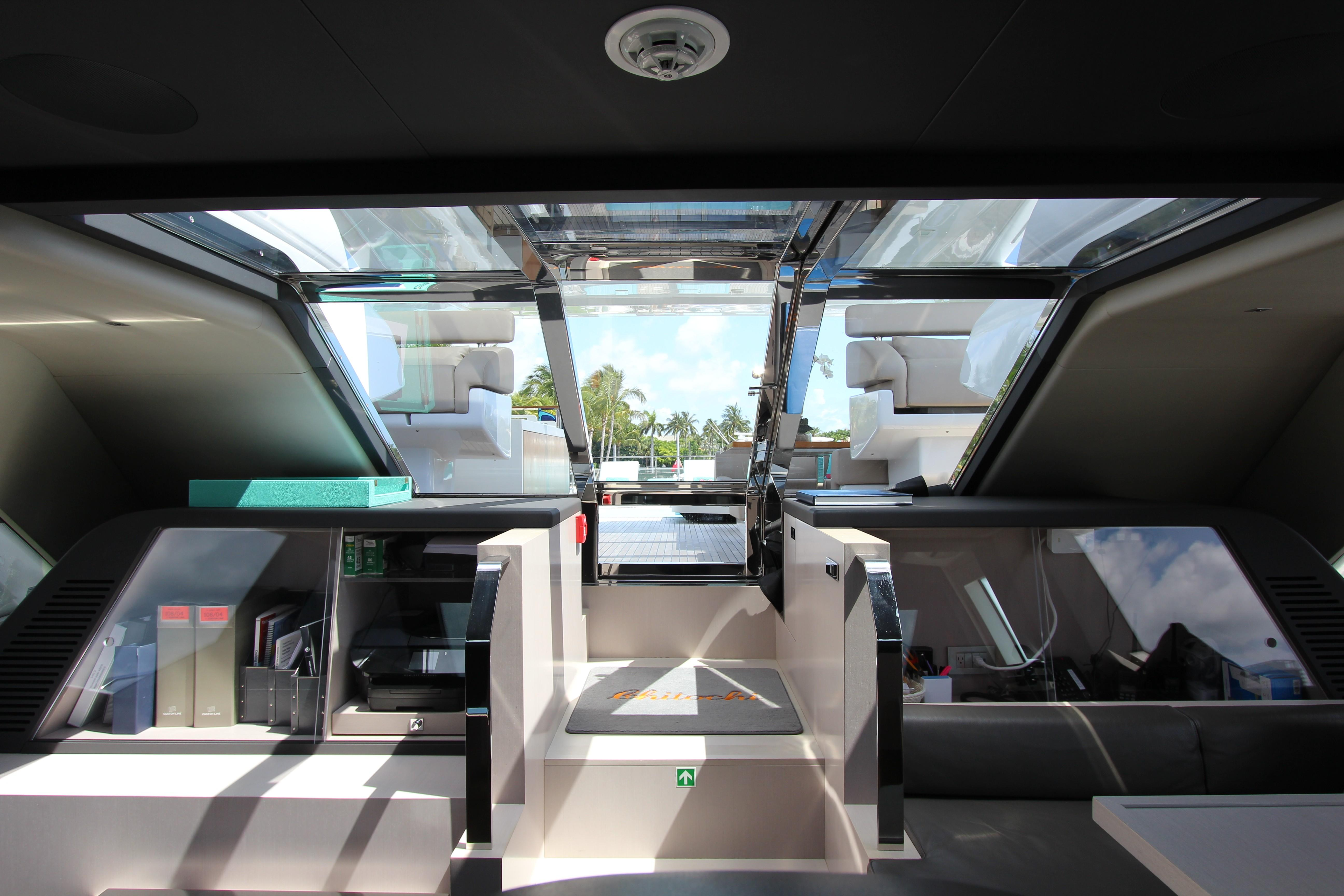 2016 Custom Line 108 - Wheelhouse Aft