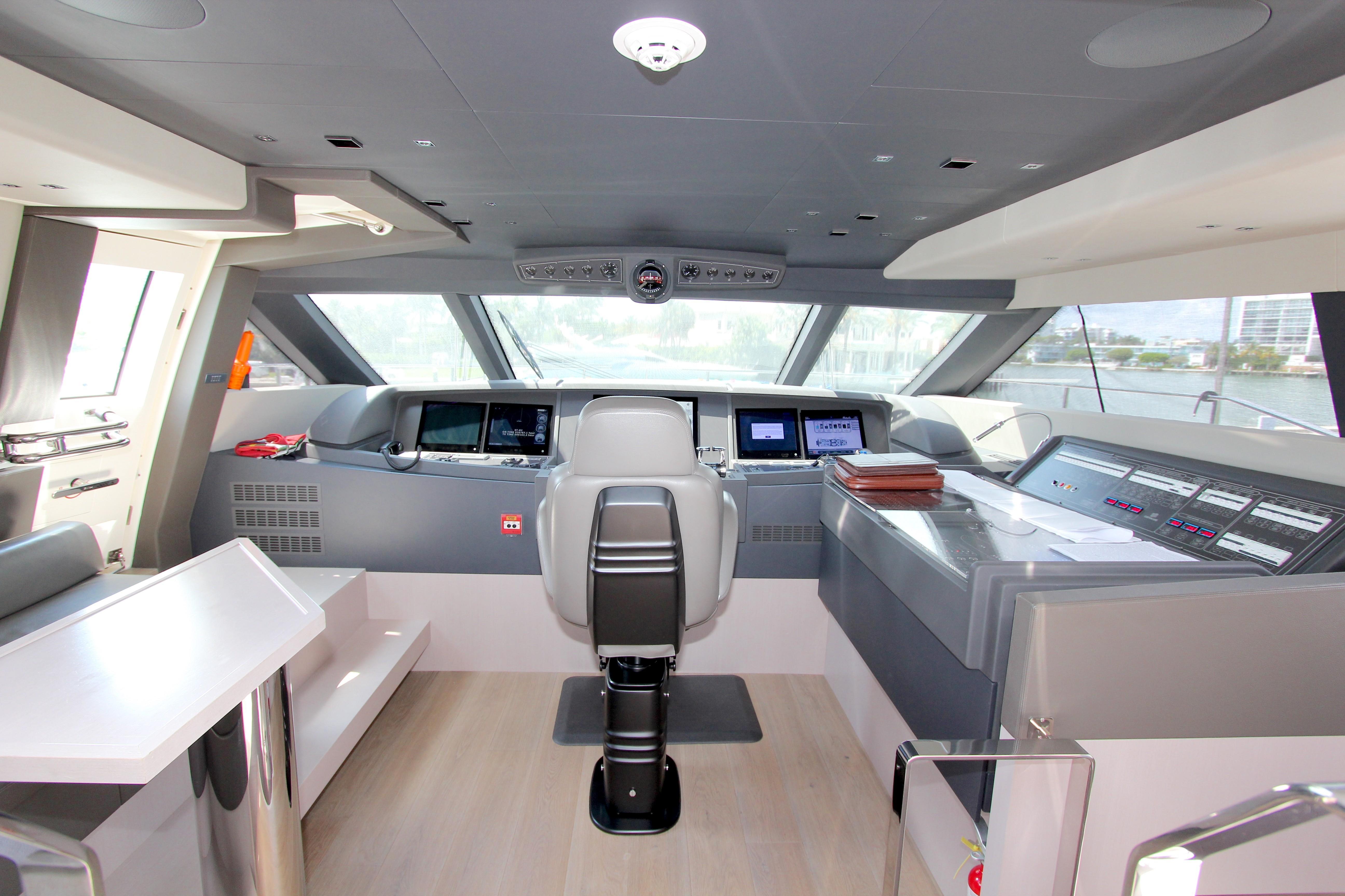 2016 Custom Line 108 - Wheelhouse
