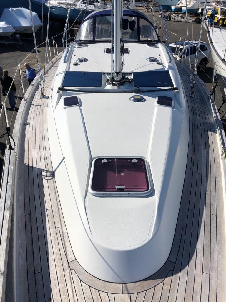 Southerly 38 deck
