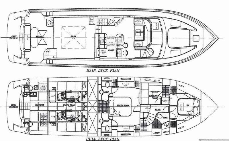 Vessel Layout Schematic