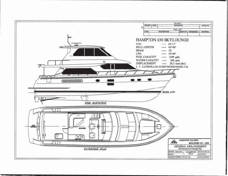 Vessel Drawing