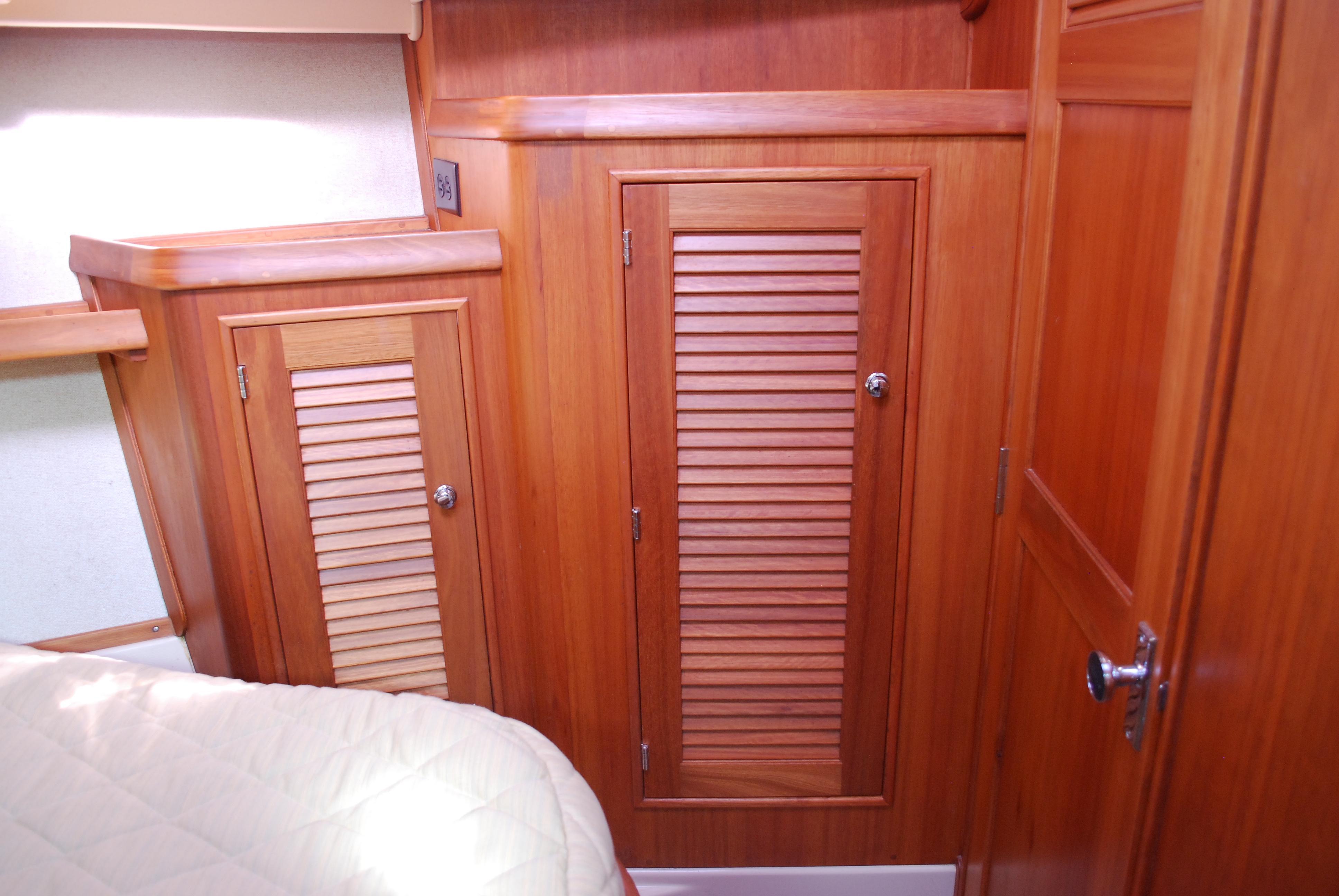 Fwd Cabin Storage