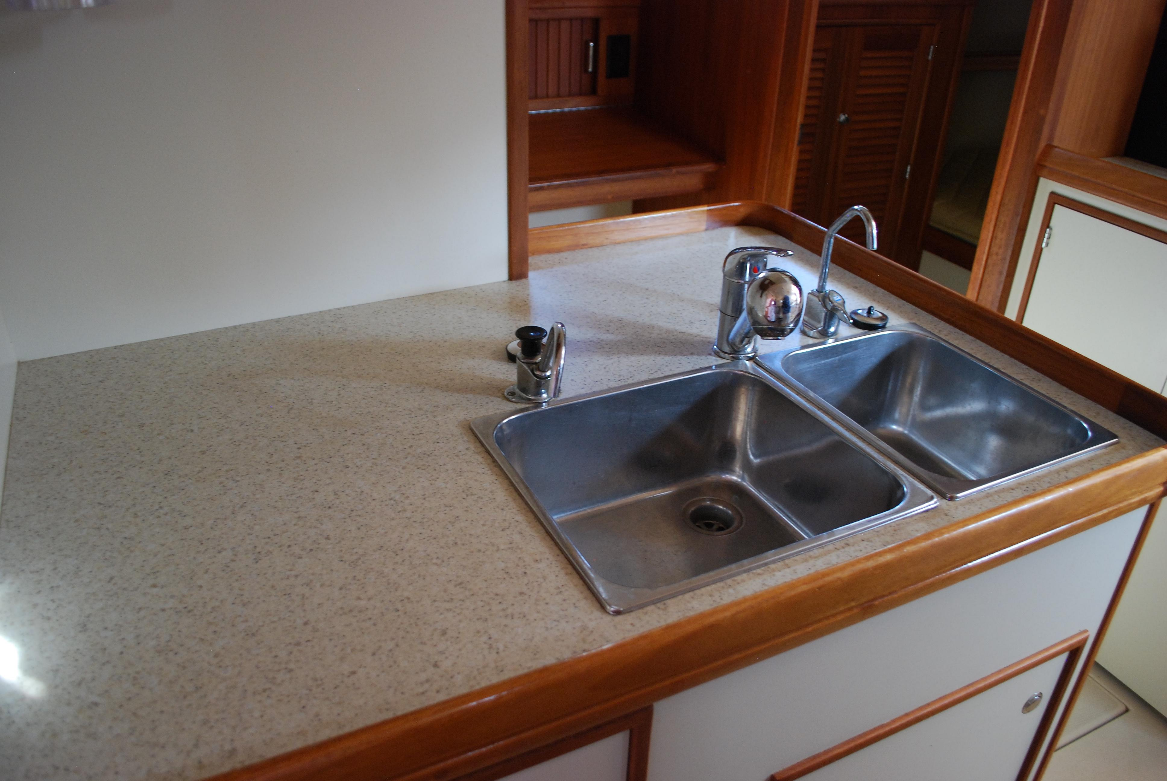 Galley Sink and Counter Top