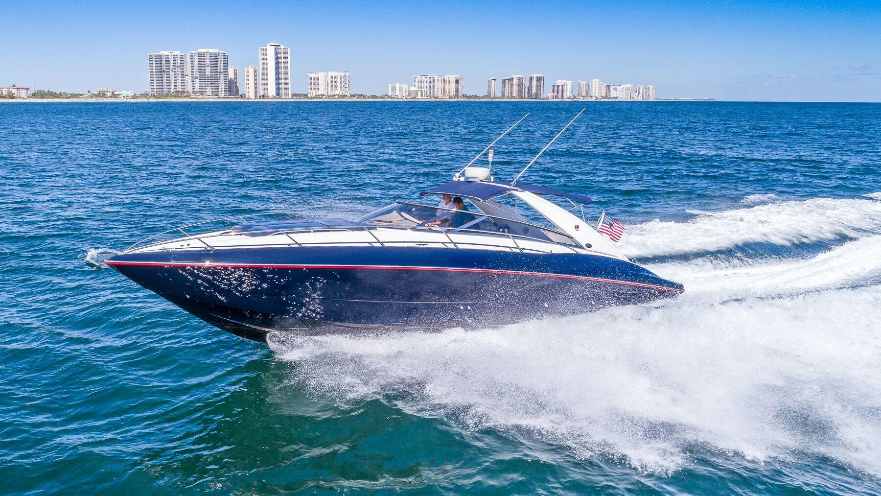 43 ft Sunseeker Superhawk 43