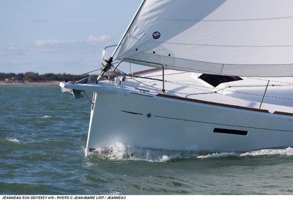 Jeanneau Sun Odyssey 419 Sell Broker