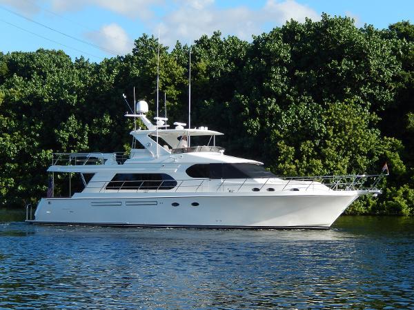 2008 64' Ocean Alexander 64 Pilothouse