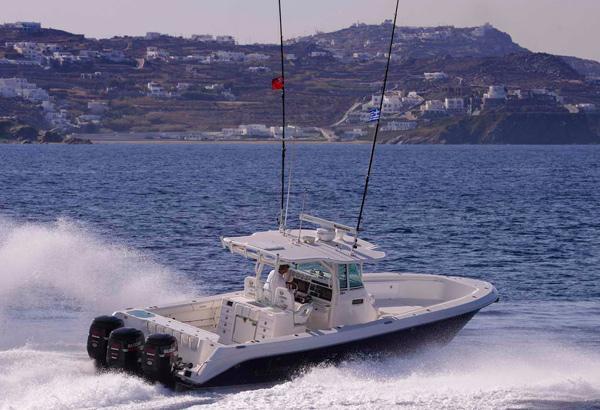 Sport Fishing Boat Crusing