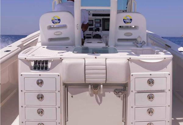 EVERGLADES 35 Steering Console