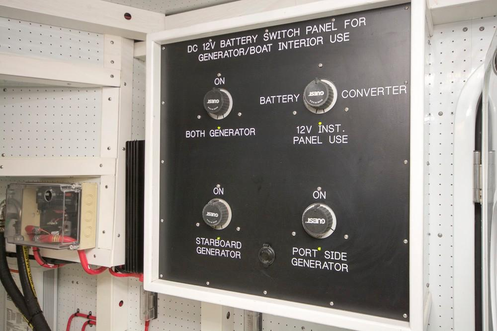 Engine Room Electrical Panel