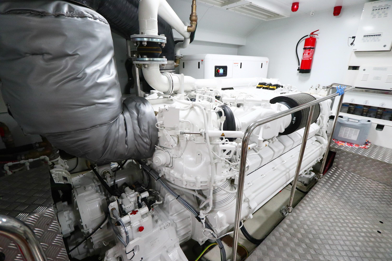 Custom Line 108 - Engine Room