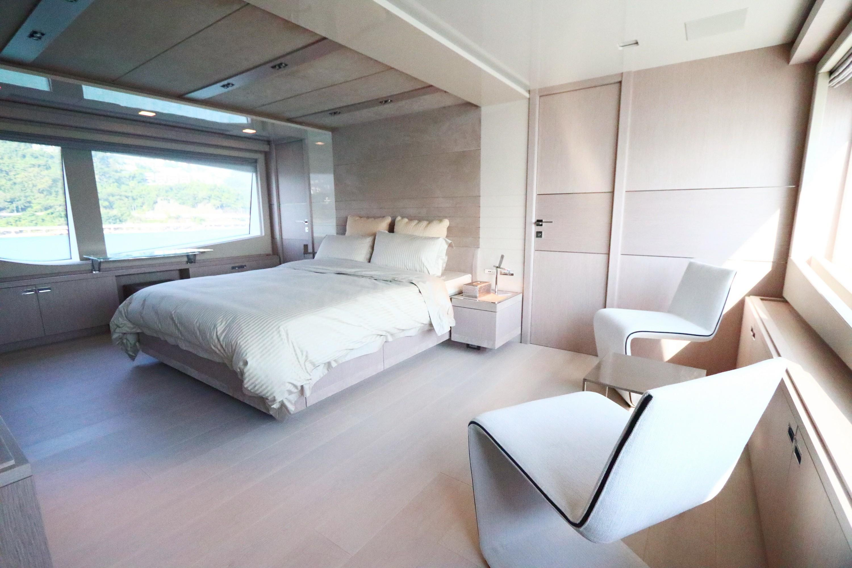 Custom Line 108 - Master Cabin