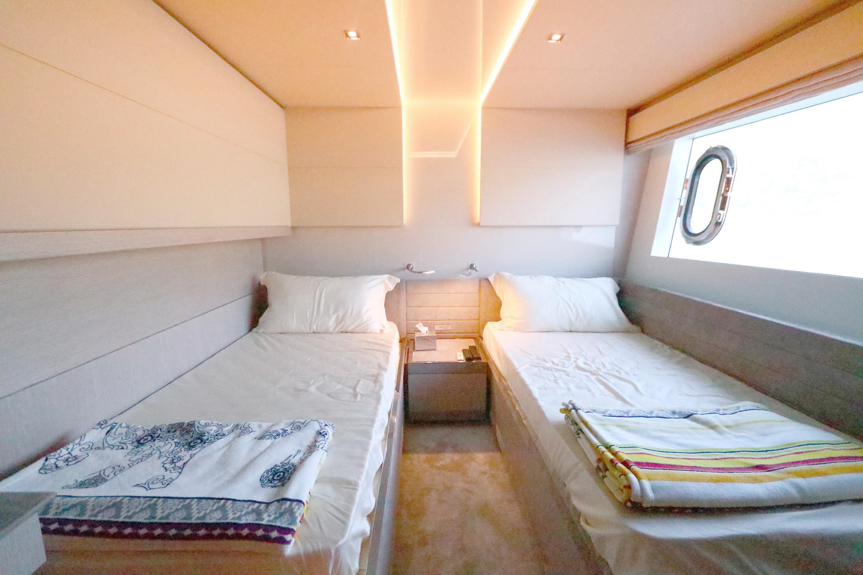 Custom Line 108 - Starboard Guest Cabin