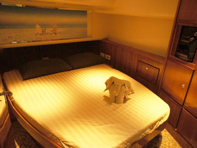 Bertram 510 - Master cabin