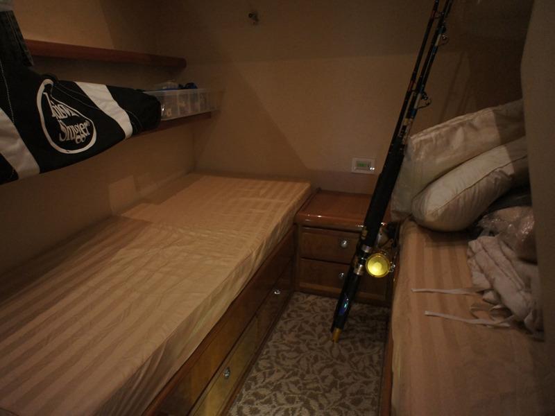 Bertram 510 - Guest cabin
