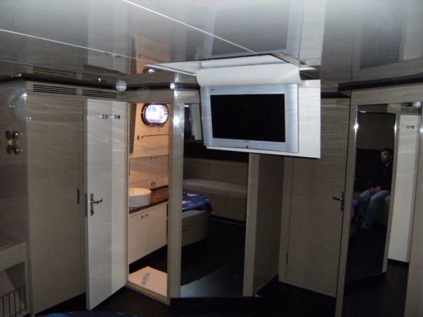 27 M.Gulet Master Cabin With TV