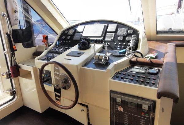 Steering Console Inside