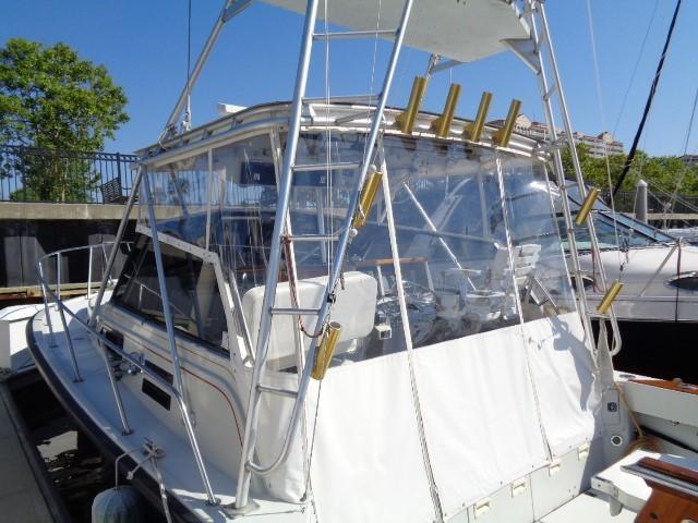 Rampage Sportfish - tuna tower access