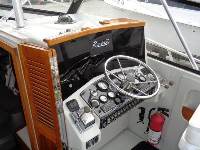 Rampage Sportfish - Cpat's helm