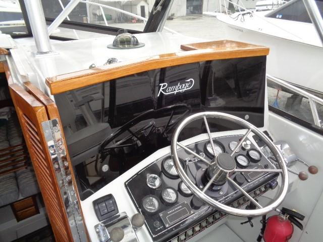 Rampage Sportfish - command station