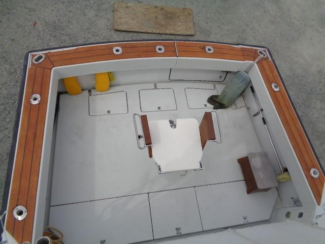 Rampage Sportfish - cockpit area