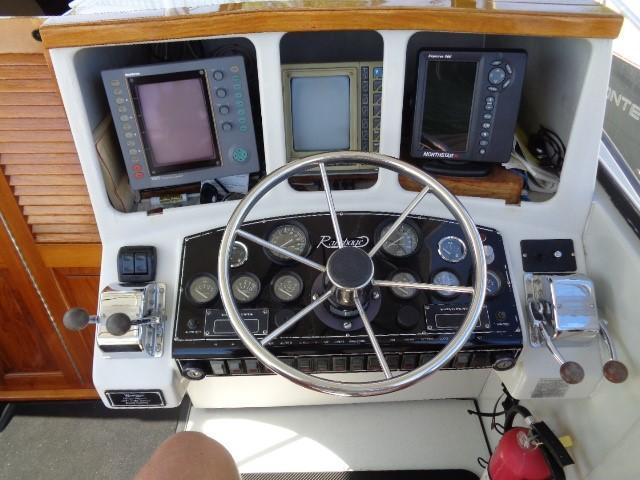 Rampage Sportfish - Capts control