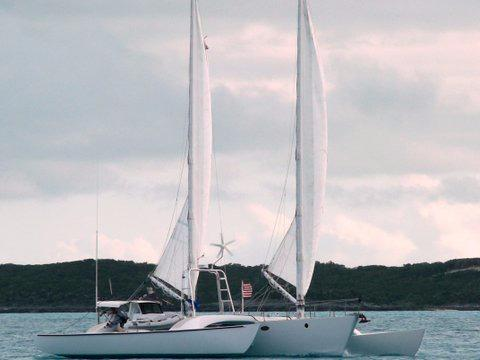 55' Chris White 1989 Juniper 2 Trimaran